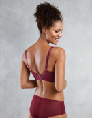 Victory Balconette Bra in Burgundy by Curvy Kate