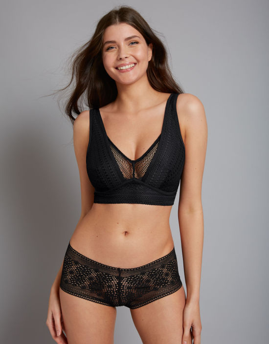 046393e891 Zara Bralette in Black by Bravissimo