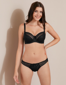 Alana Balconette Bra in Black by Bravissimo