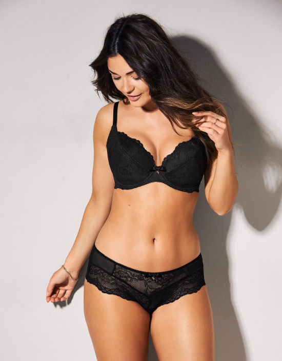 b8133b6afb0a5 Superboost Lace Plunge Bra in Black by Gossard