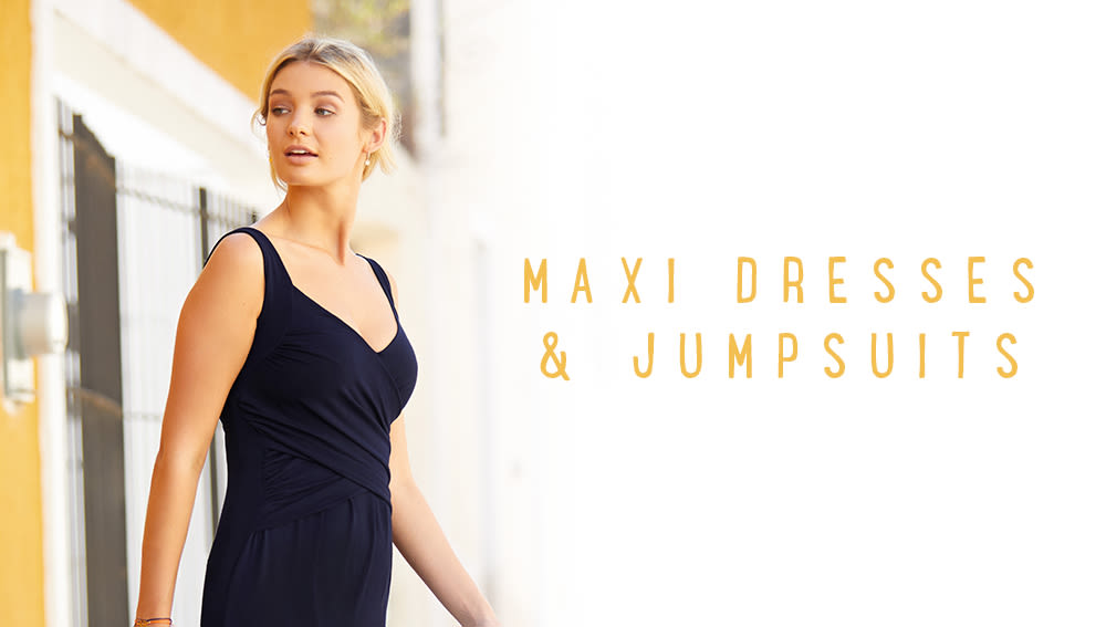 Maxi Dresses & Jumpsuits