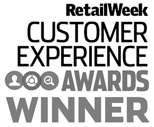 Winner of Retail Week Customer Experience Award