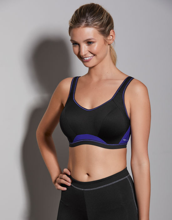 30366c157 Epic Wired Sports Bra in Black by Freya