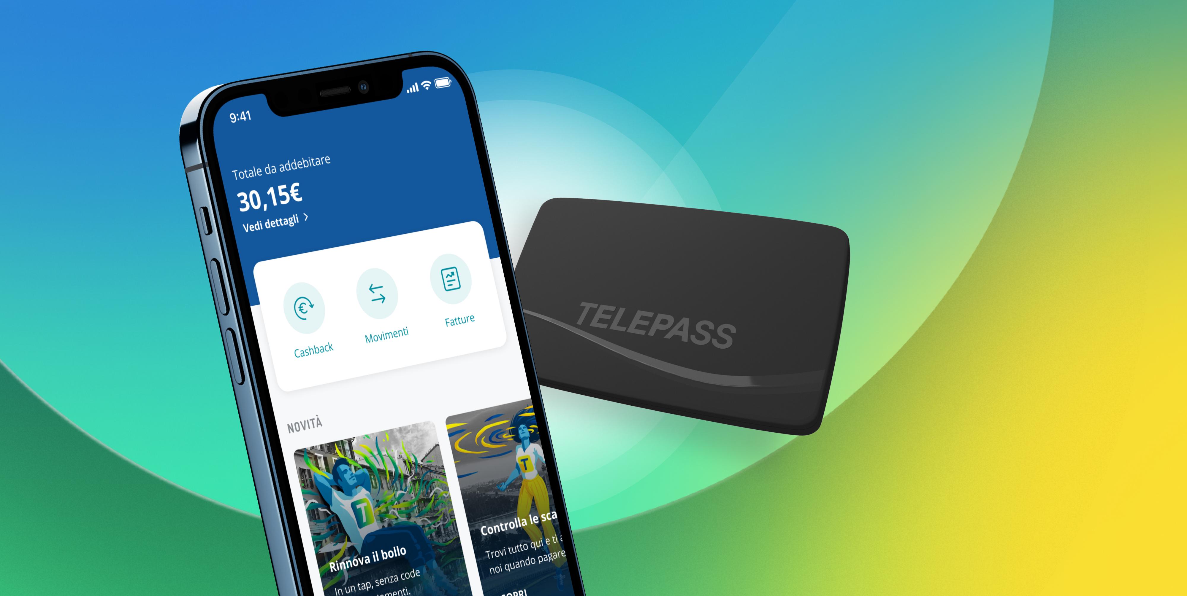 Con Telepass Pay la tua mobilità in un'unica app