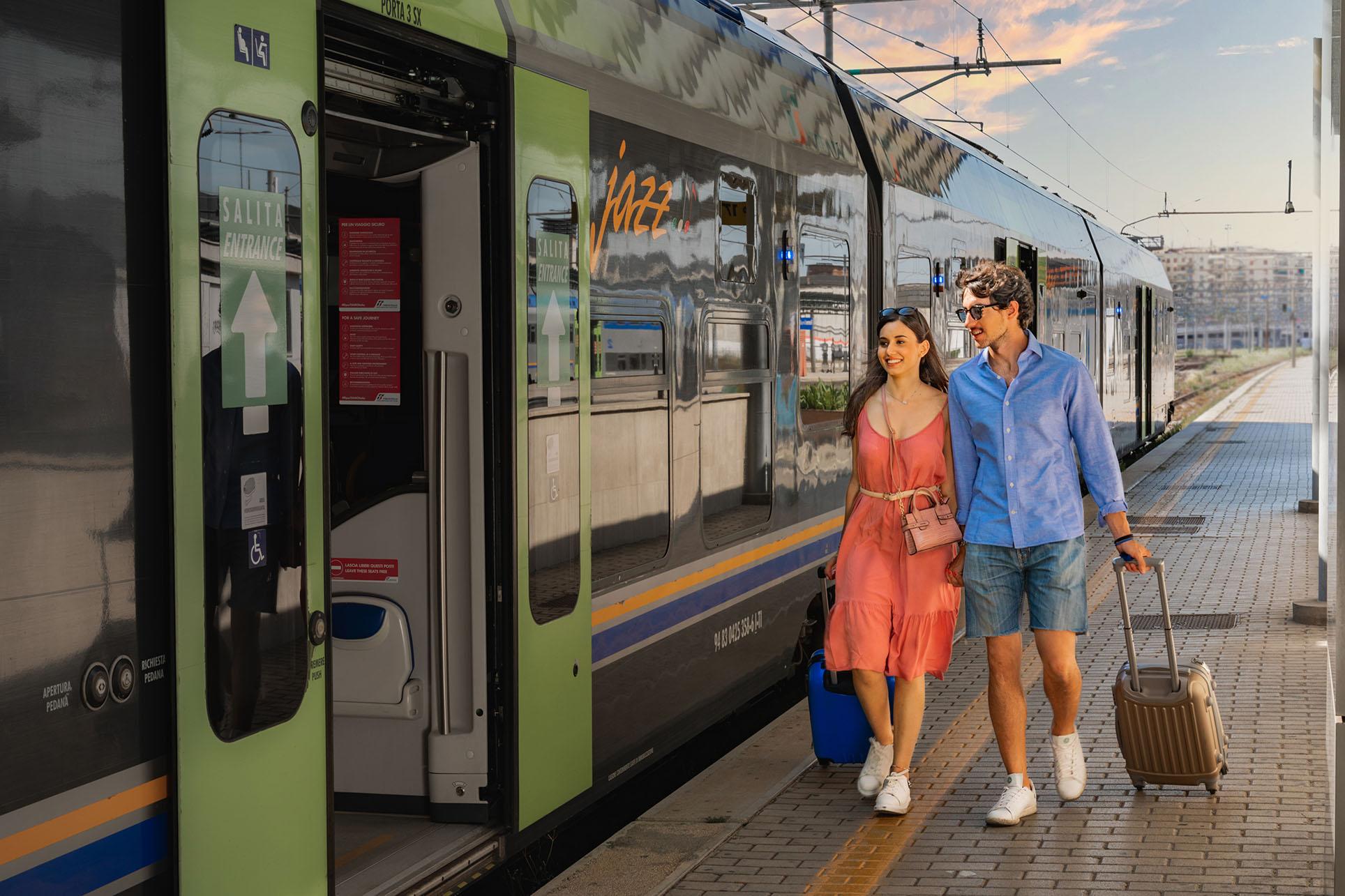 Con Telepass Pay compra il tuo biglietto del treno e viaggia ovunque.