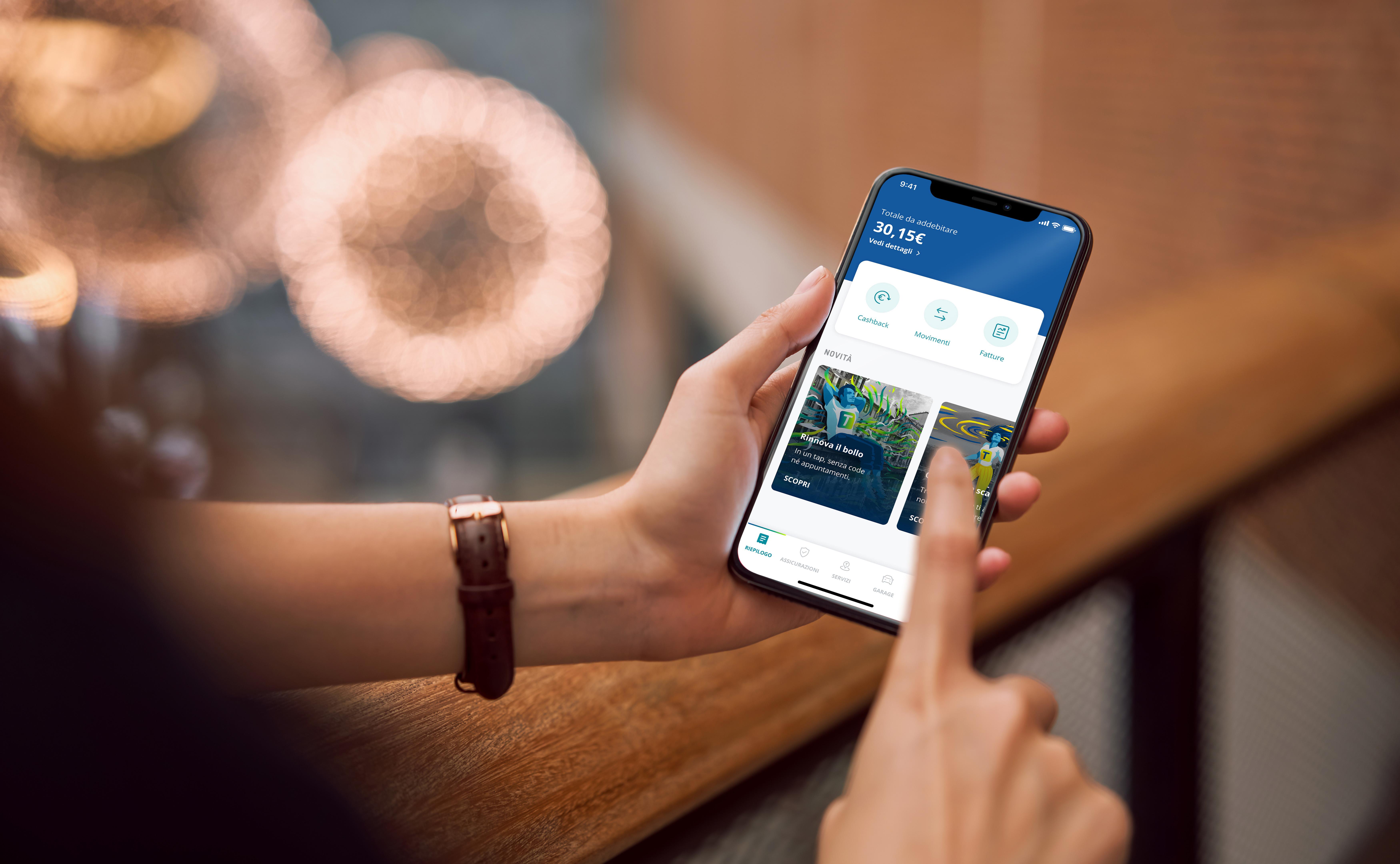 L'App Telepass Pay ti aiuta a ridurre l'inquinamento, i costi e i consumi