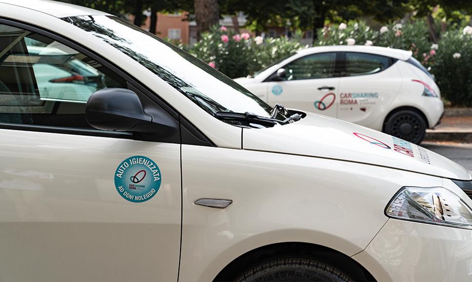 """A Roma, con Wash Out, società del gruppo Telepass, abbiamo lanciato lo """"Smart Cube"""", dispositivo innovativo in grado di diffondere in modo automatico all'interno del car sharing un prodotto igienizzante."""