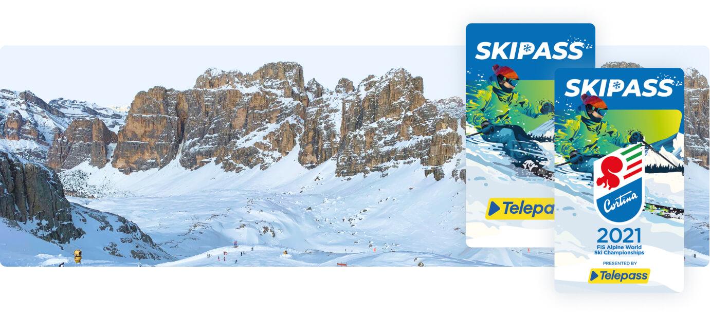 La Nuova Telepass Skipass Cortina