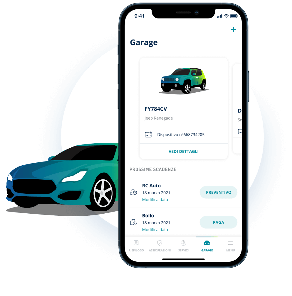 Garage App Telepass Pay