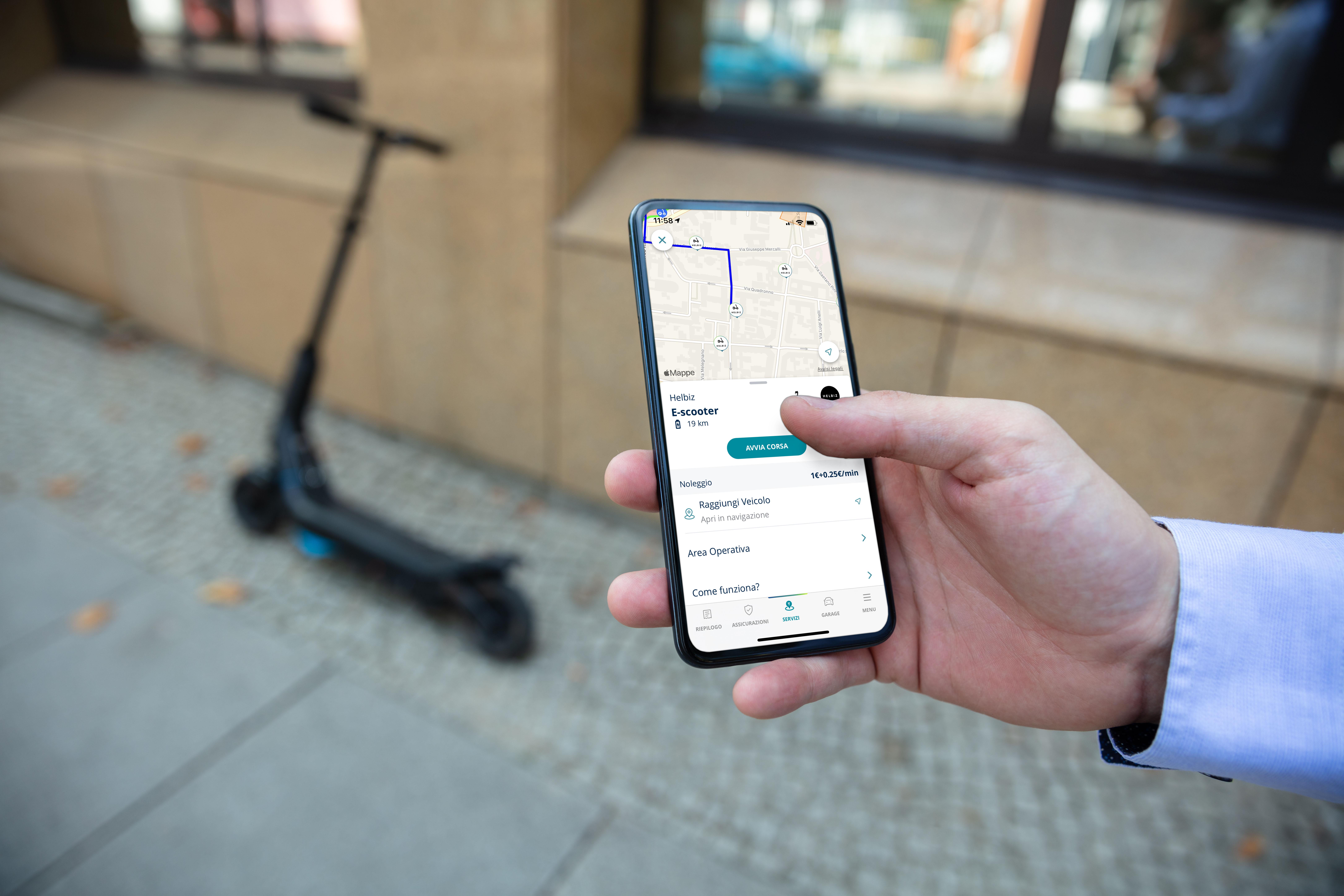 Con l'App Telepass Pay muoversi in città è smart.