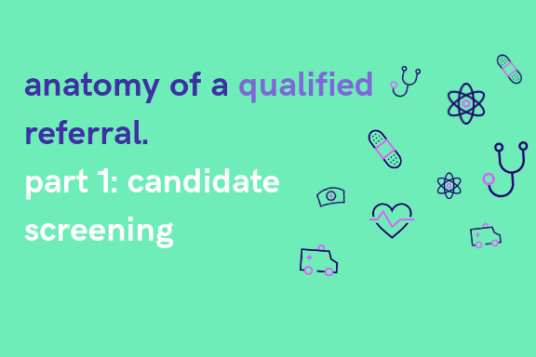 anatomy of a qualified referral