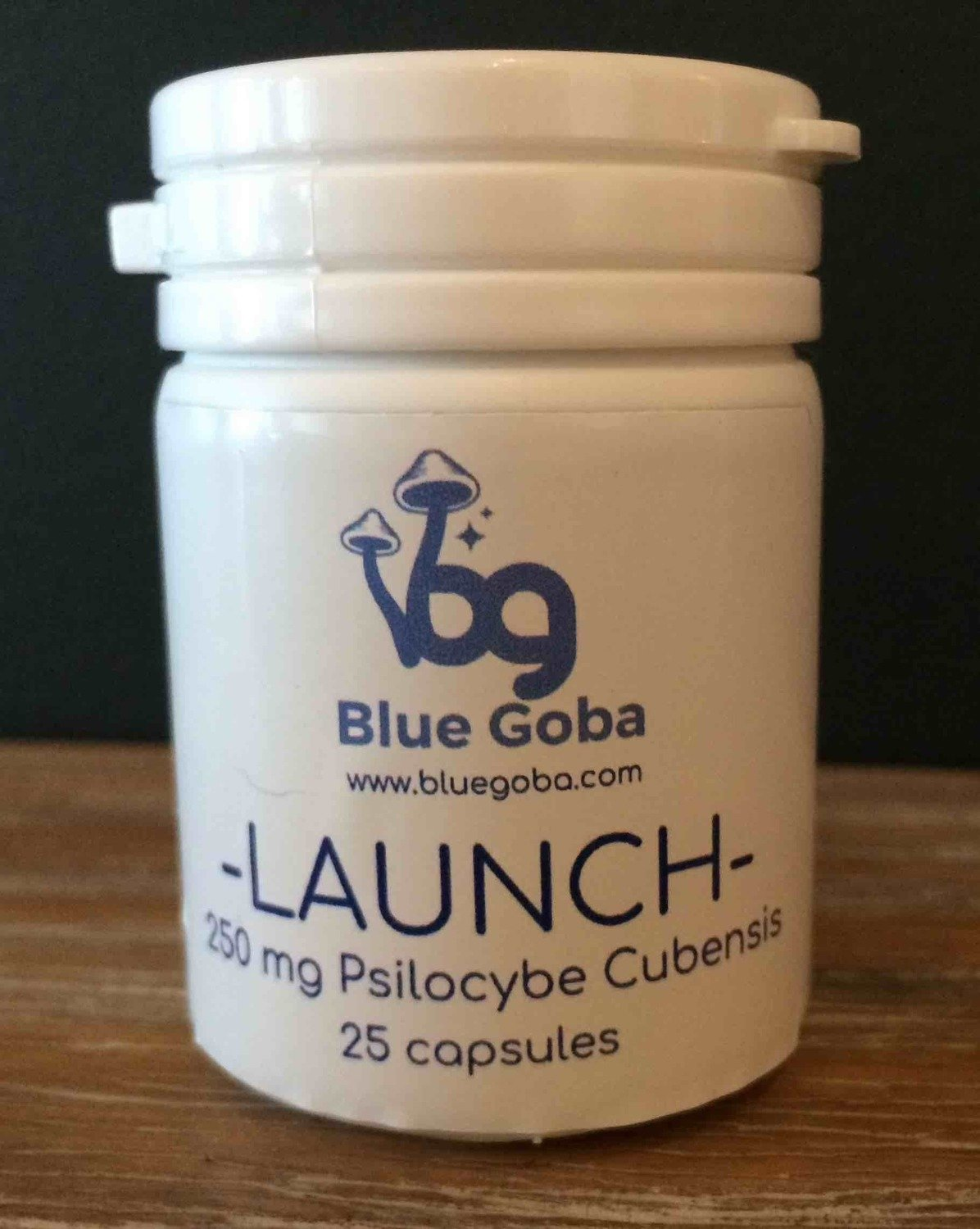 Psillow | Blue Goba Launch Capsules