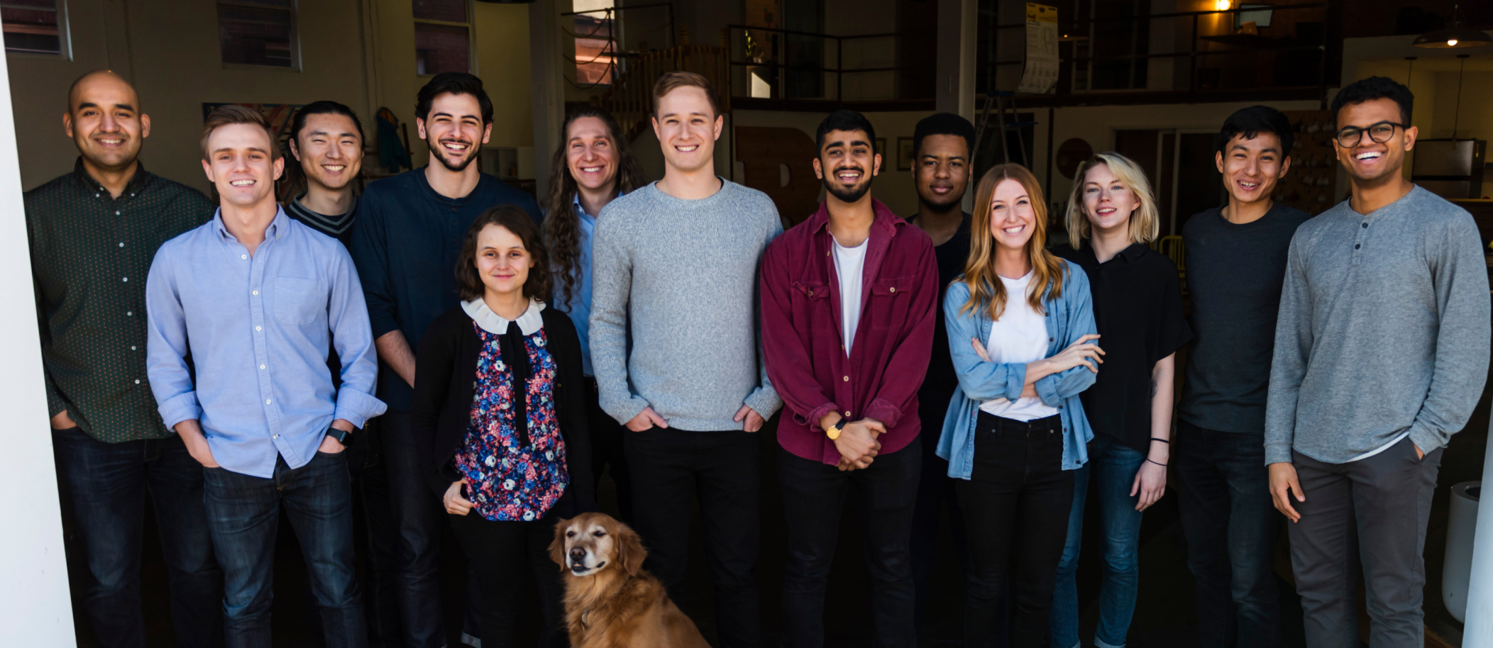 A photo of the Air team in the NY office.