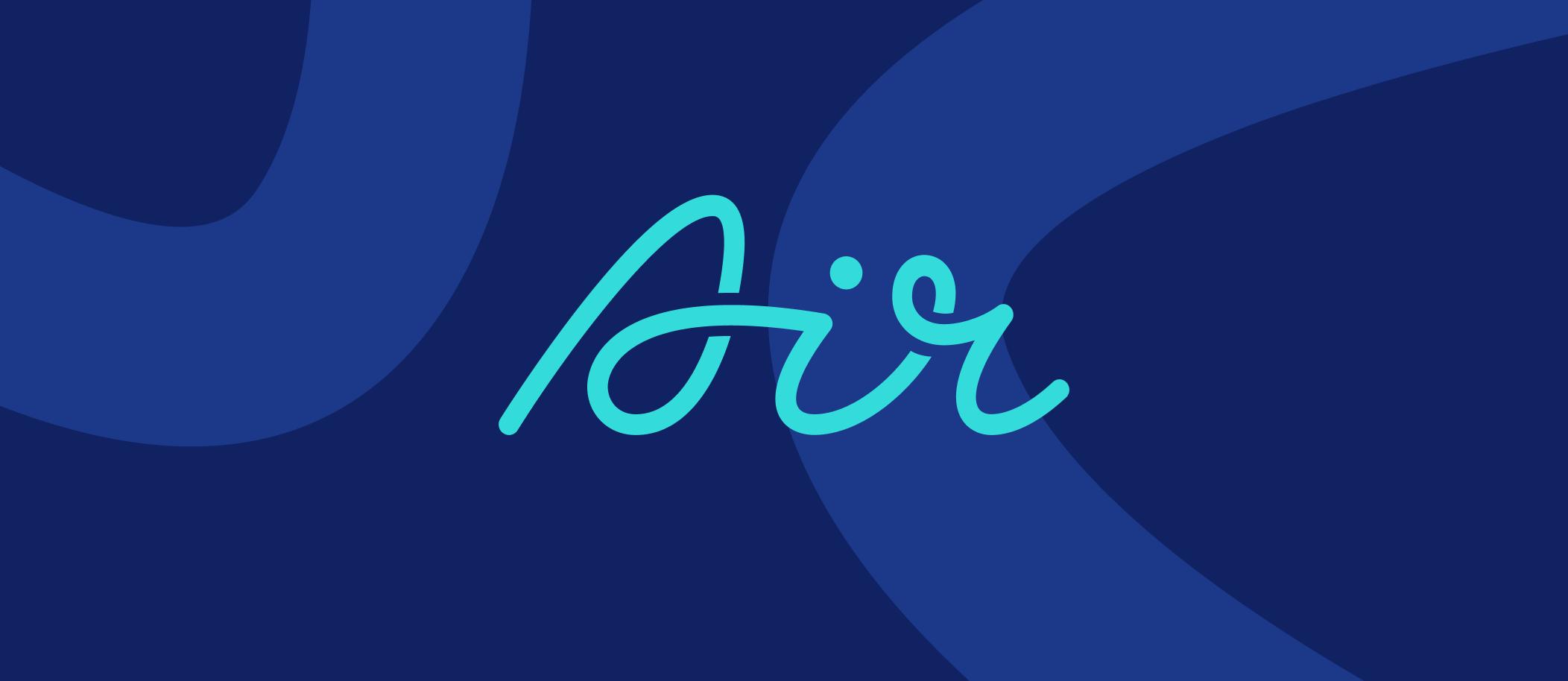 An image of Air logo