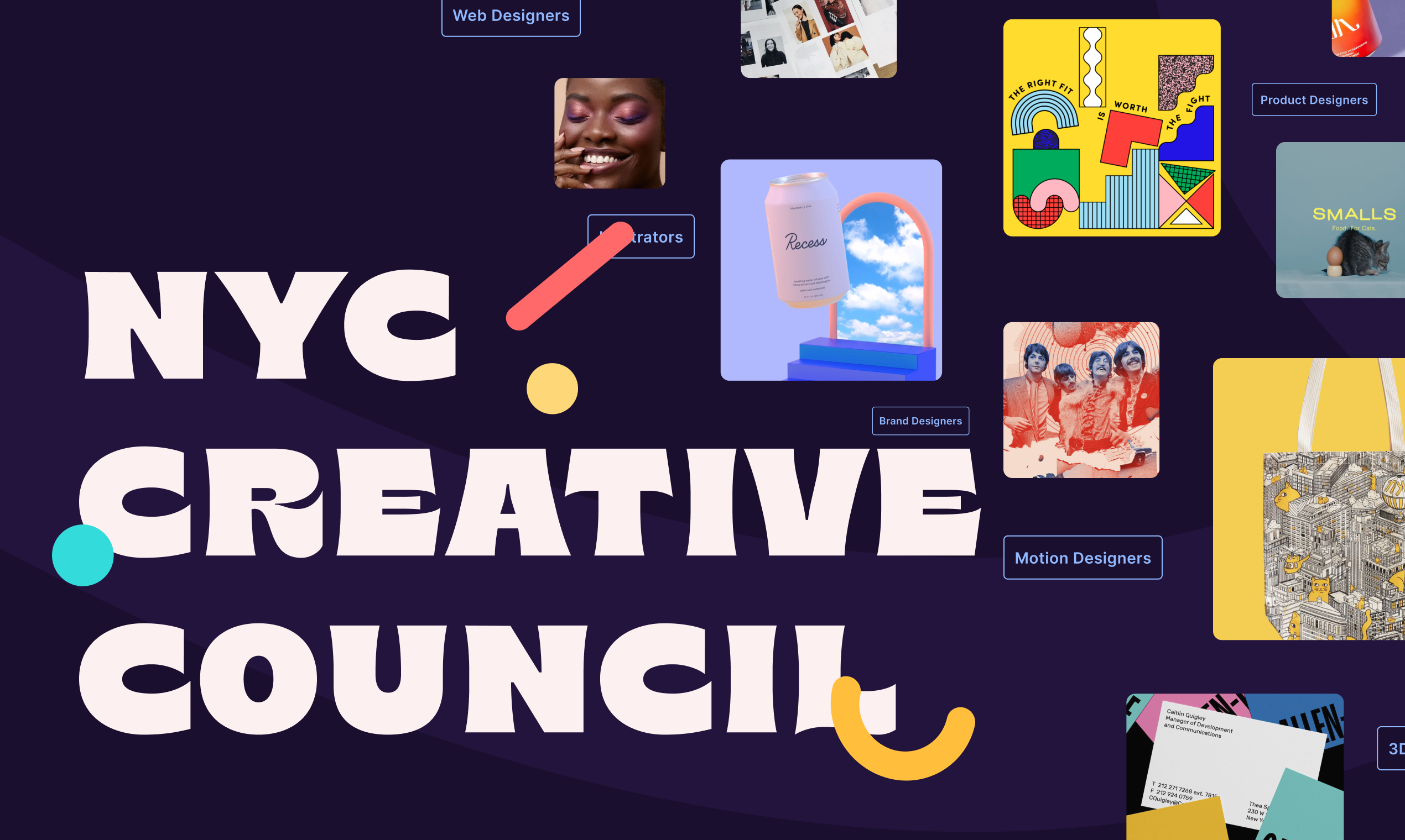 Hire freelance creatives, recommended by brands you know and love