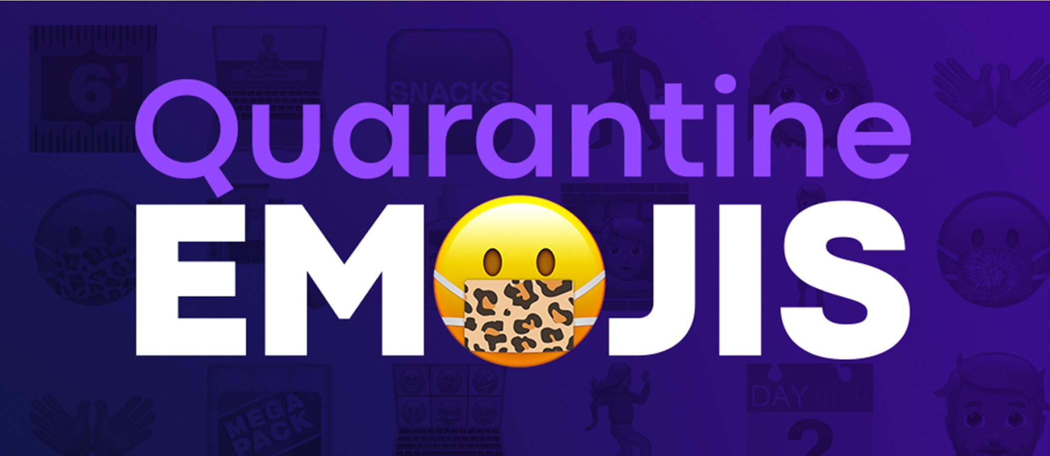 Quarantine emojis