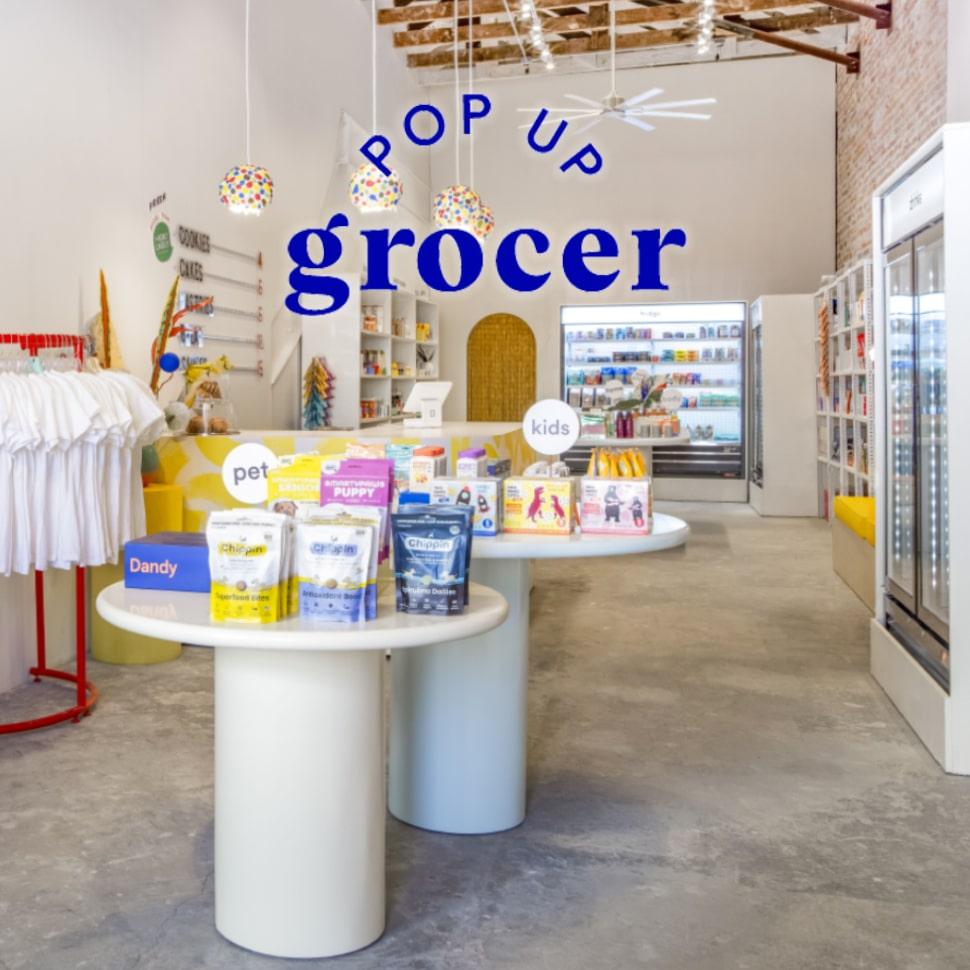Pop Up Grocer's work