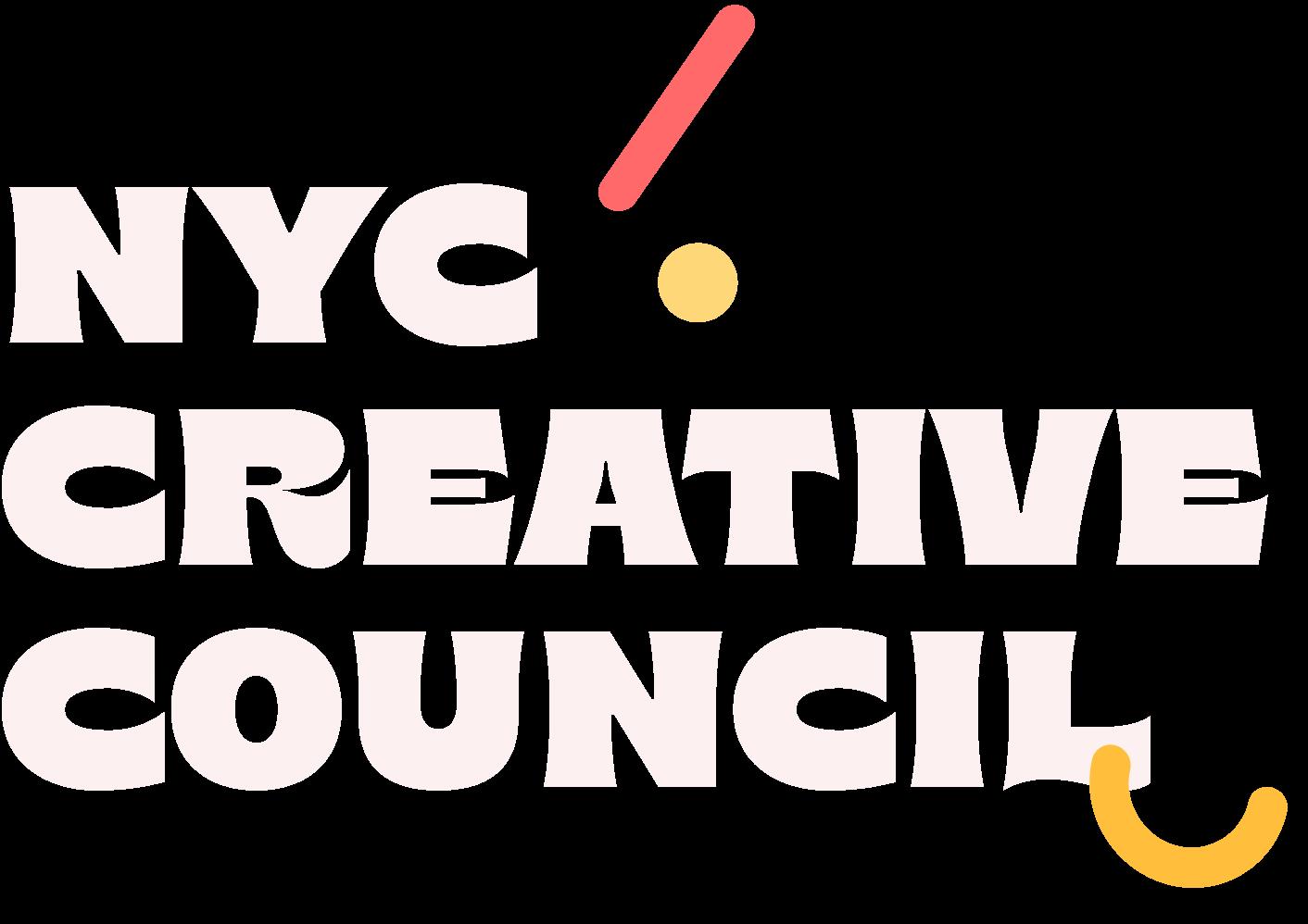NYC Creative Council text