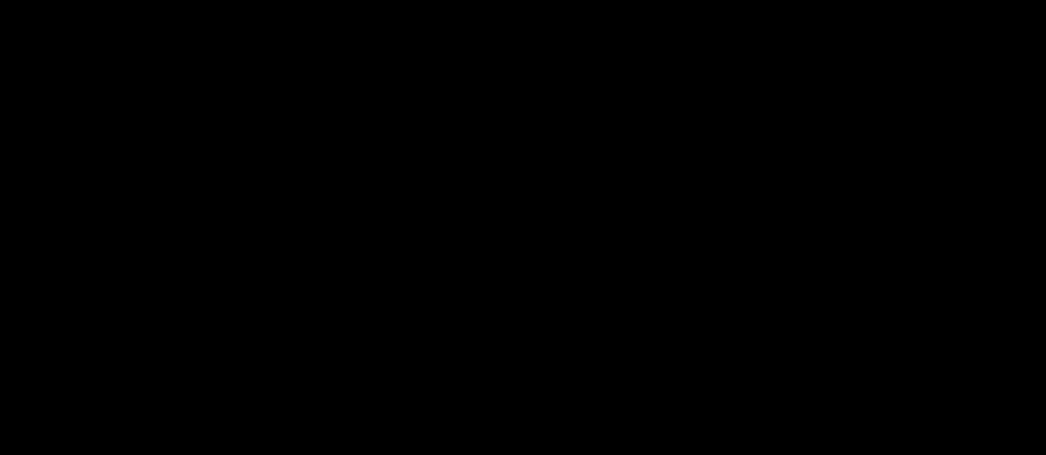 A black background.