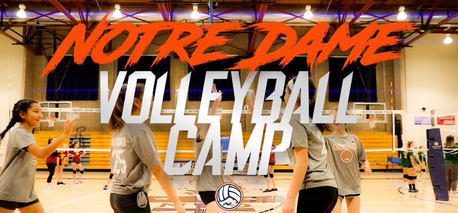 Belmont Girls Volleyball Camp At Notre Dame High School
