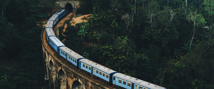 Six Train Routes Around the World
