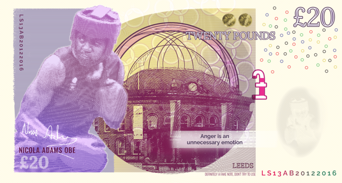 Nicola Adams - Leeds Bank Note