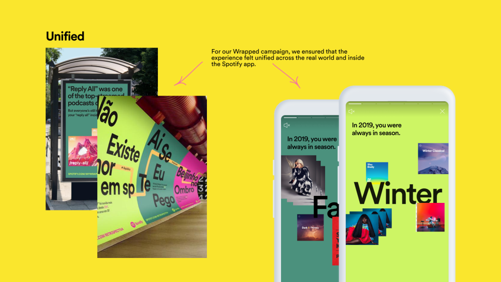 Examples of Spotify marketing campaign.