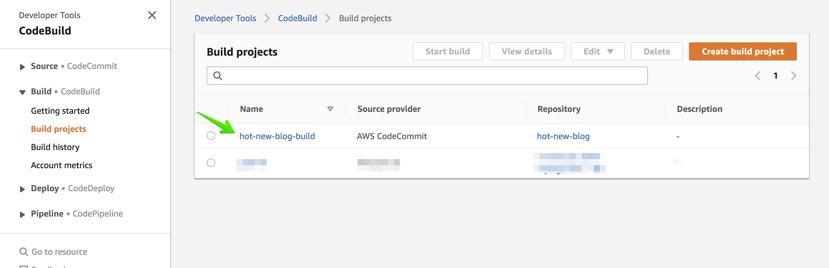 CodeBuild - AWS Developer Tools 2019-08-29 16-17-09
