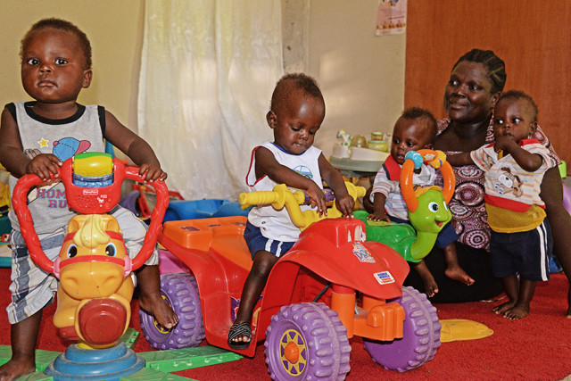 It's Life and Death When Quadruplets Are Born Into Poverty
