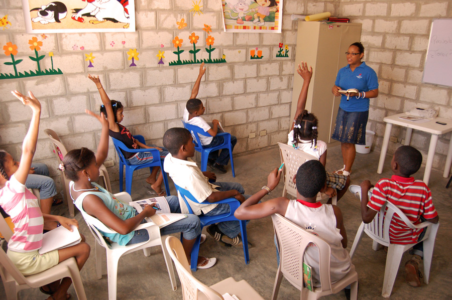 Classroom in Dominican Republic