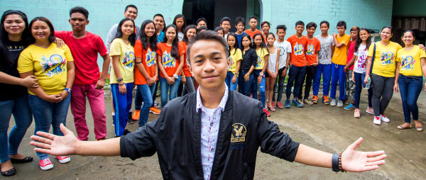 Compassion Sponsored Teen Named Top Student in the Philippines
