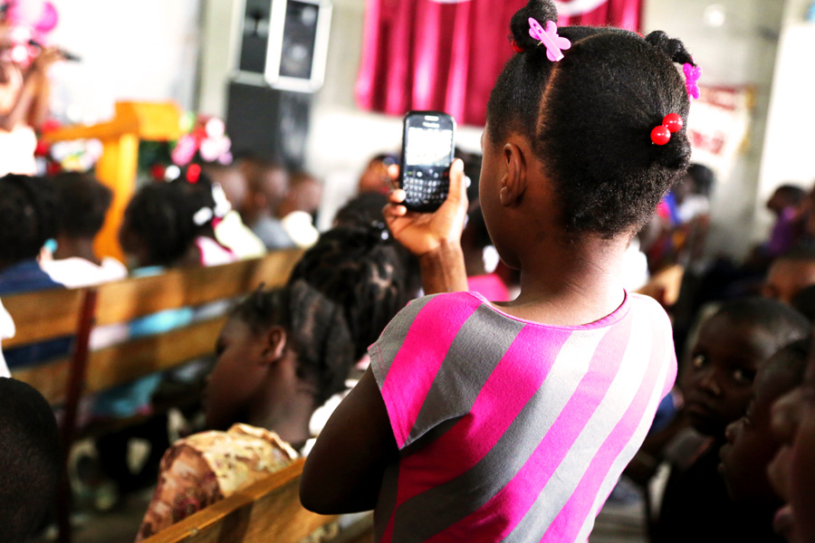 Why Children In Poverty May Have A Mobile Phone