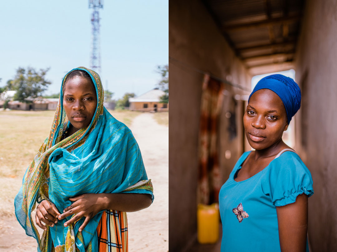9 Striking Portraits of the Mums Just Enrolled in a Survival Project
