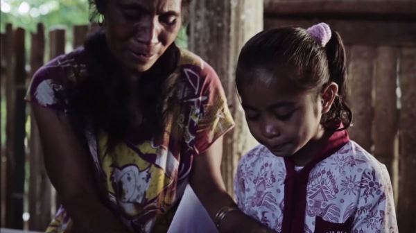 Watch What Happens When a Child Learns She Has a Sponsor
