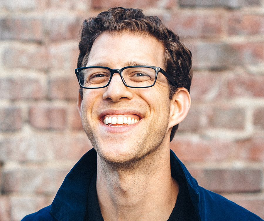 Headshot of co-founder, Ben Blumenfeld