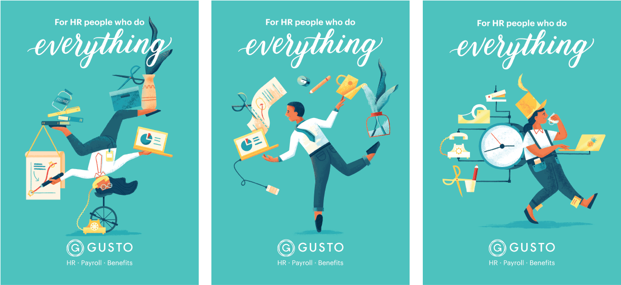 Gusto-poster-triptych