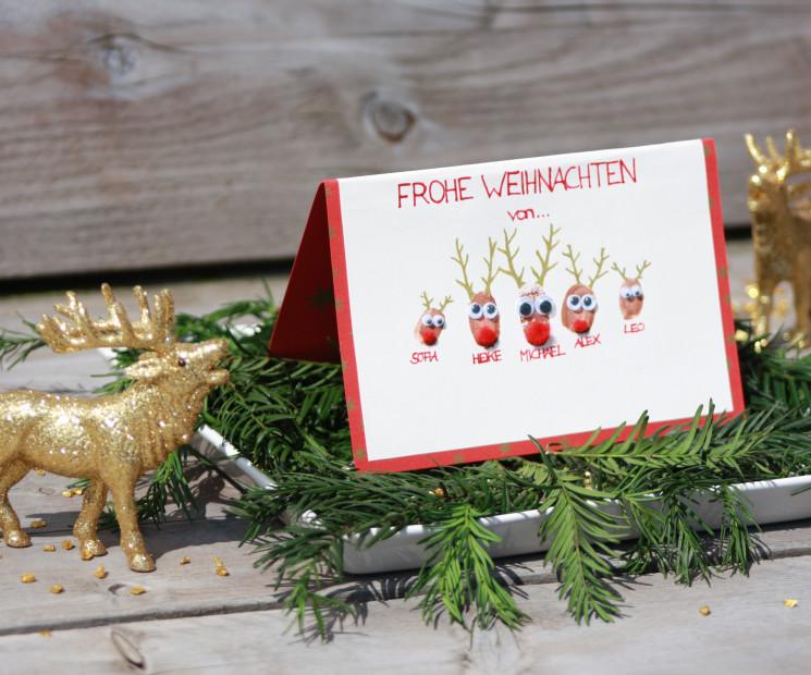 Weihnachtskarten basteln und gestalten auf - Originelle weihnachtskarten ...