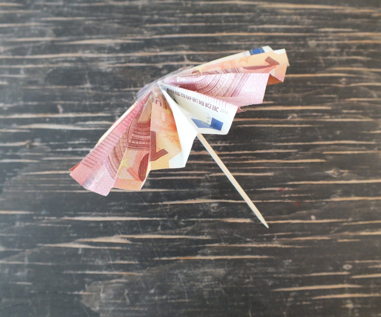 Geldgeschenk für Reisen und Urlaube basteln