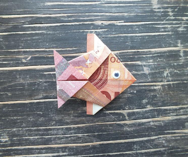 Fisch Falten Aus Geldschein Einfache Anleitung Geschenke De