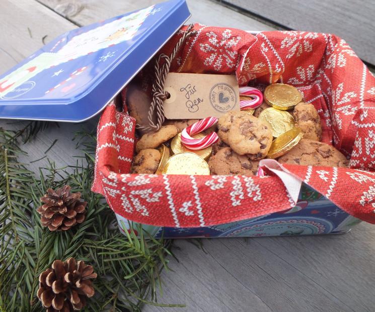 Weihnachtsgebäck Verpacken.Weihnachts Plätzchen Und Kekse Verpacken Verschenken