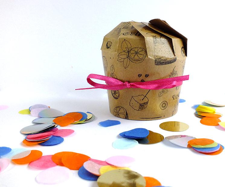 Pbecher Geschenkverpackung