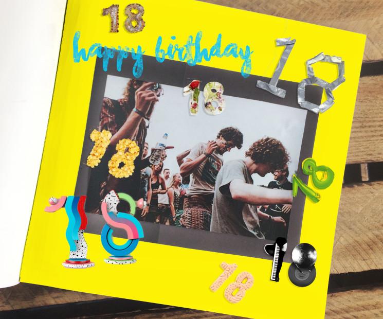Geburtstagsgeschenke basteln kreative ideen magazin - Scrapbook ideen ...