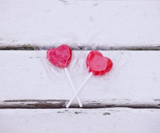 Valentinstag Lollies
