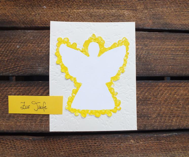 Karten Zur Taufe Schone Bastelideen Fur Die Taufkarte