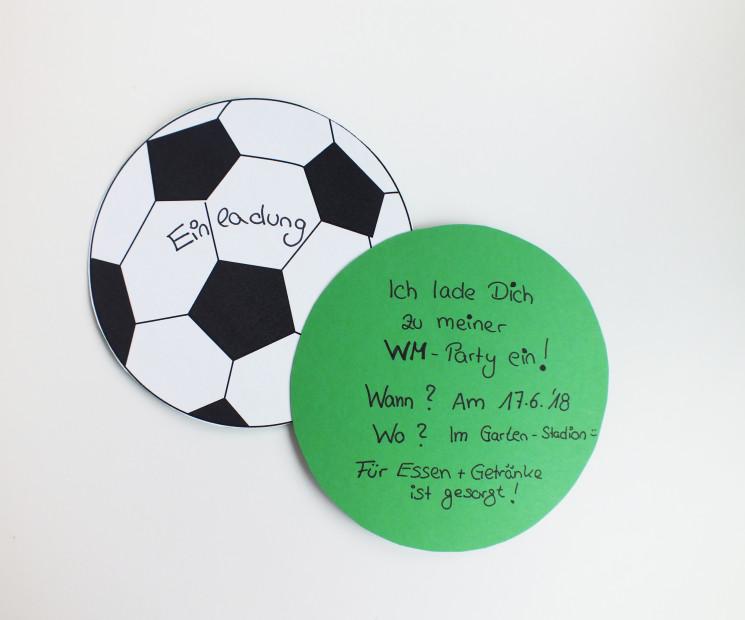 Einladungen Zum Fussballabend Geschenke De