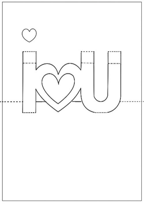 Pop Up Karte Geburtstag Vorlage.Valentinstagskarten Selbst Machen Die Besten Ideen Zum