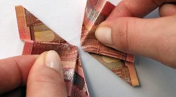 Geldscheine Falten Einfache Anleitungen Geld Falten Geschenke De
