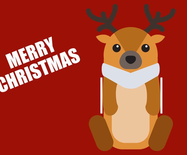 Weihnachtskarte Mit Elchmotiv Als Geldgeschenk Auf Geschenke De