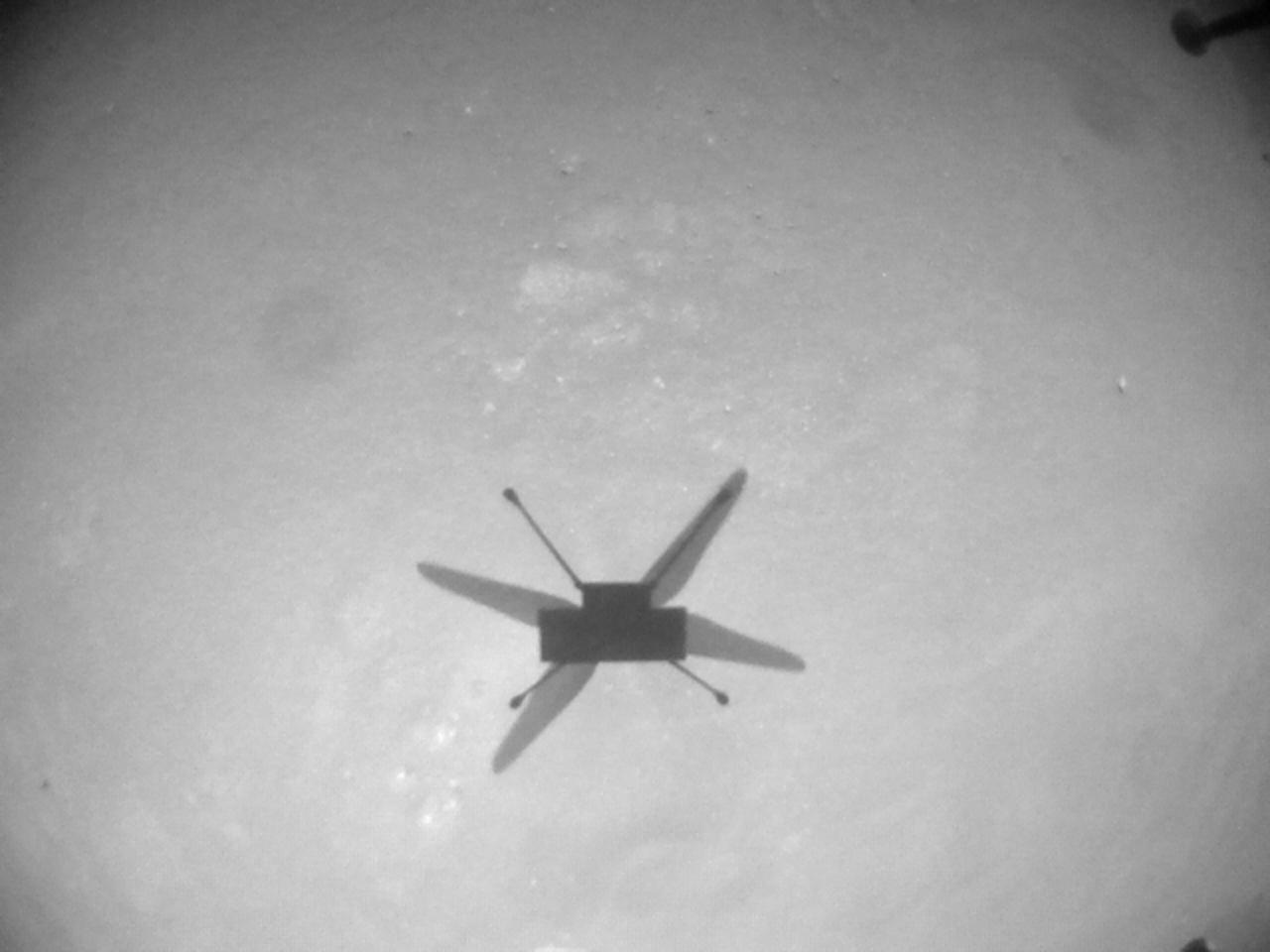 NASA-JPL-Caltech.  Perseverance image on Mars Flight9