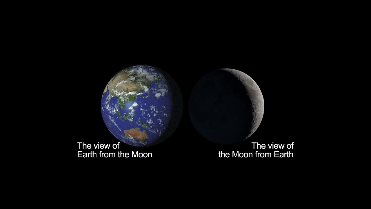 Earth, Moon & Earthshine - NASA